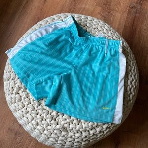 Aqua /seafoam green NIKE shorts